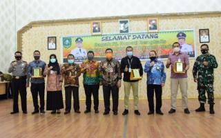 Pj. Bupati Bengkalis Laksanakan Kunker dan Silaturahmi di Mandau