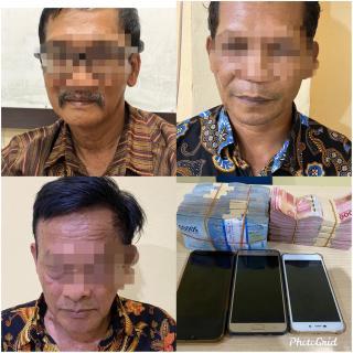 Terjaring OTT, Tiga kepala Desa di Kampar diciduk Aparat
