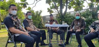 Cagub Sumbar Fakhrizal Sowan ke Eks Mensos Era SBY