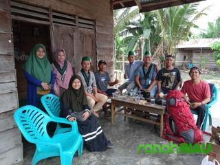 HMI MPO Cabang Pekanbaru melaksanakan agenda HMI Mengajar