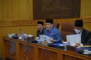 Komisi I DPRD Bengkalis Gelar Rapat Bersama OPD Terkait Pemekaran Kecamatan, Kelurahan dan Desa