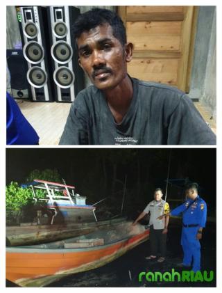 Nelayan asal Malaysia hanyut di selamatkan oleh Nelayan Kembung Baru