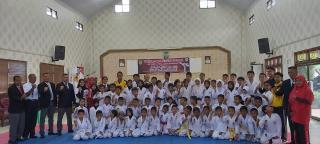Kejuaraan Antar Sabuk Meriahkan HUT Karate INKAI Duri ke-4