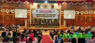 Pimpinan DPRD Riau Resmi Dilantik