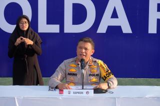 Kapolda Riau : Konsistensi Kami Terus Memburu Para Pelaku Narkoba
