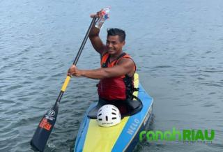Atlet asal Kuansing kembali Sumbangkan Emas untuk Provinsi Riau, diajang PON XX Papua
