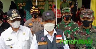 Gubernur Riau Apresiasi Suksesnya Program TMMD ke-111 yang di Gelar Kodim 0314 Inhil
