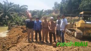 Datuk Abu, Hibahkan Lahan Untuk Pembangunan Kantor Koramil Kamangbaru