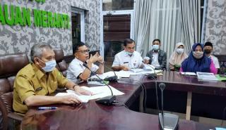 Wakil Bupati Kepulauan Meranti, Pimpin Rakor rencana aksi Pencegahan Korupsi Terintegrasi 2021