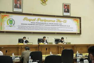 Pemkab dan DPRD Inhil Bahas Refocusing Anggaran Rancangan Perubahan APBD 2021