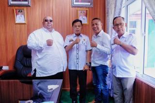 Ketua IKMJ Silaturrahmi Bersama Wakil Bupati Kepulauan Meranti H. Asmar