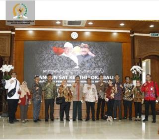 Pemprov Bali Hibahkan Aset untuk Kantor Daerah