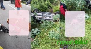 Laka Lantas di Kecamatan Bantan, Suami Istri Meninggal di Lokasi Kejadian