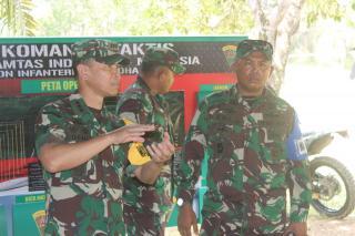 Tim Wasev Mabes TNI Melaksanakan Pengecekan Kesiapan Latihan Pratugas