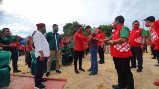 Kukuhkan Tim Pemenangan, Zukri-Nasarudin Siap Bawa Kehidupan Baru di Pelalawan