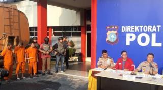 Bongkar Komplotan Illegal Tapping, Kapolda Riau dapat apresiasi