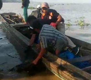 Hari Ini, Tim BPBD Inhil Temukan Mayat di Perairan Indragiri