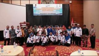 Dihadiri Forkompinda, Wilson Lalengke Lantik Kepengurusan PPWI Tanah Datar