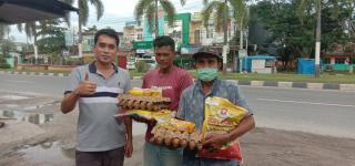 Berbagi Rezeki, DR. M. Nurul Huda : Wujud Peduli Menghadapi Wabah Covid-19