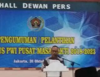 Ketua PWI Pusat Menilai Putusan PWI Riau Tepat Sesuai Aturan Organisasi