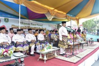Pawai Taaruf MTQ Ke-44 Dilepas Bupati Bengkalis