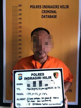 Pengembangan Kasus 908,13 Gram Sabu dan 57 Pil Ekstasi di Inhil Terungkap, ini Pengendalinya