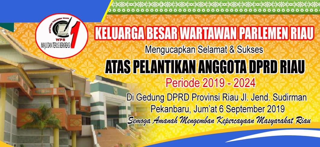 Iklan Atas Ucapan Selamat DPRD Riau